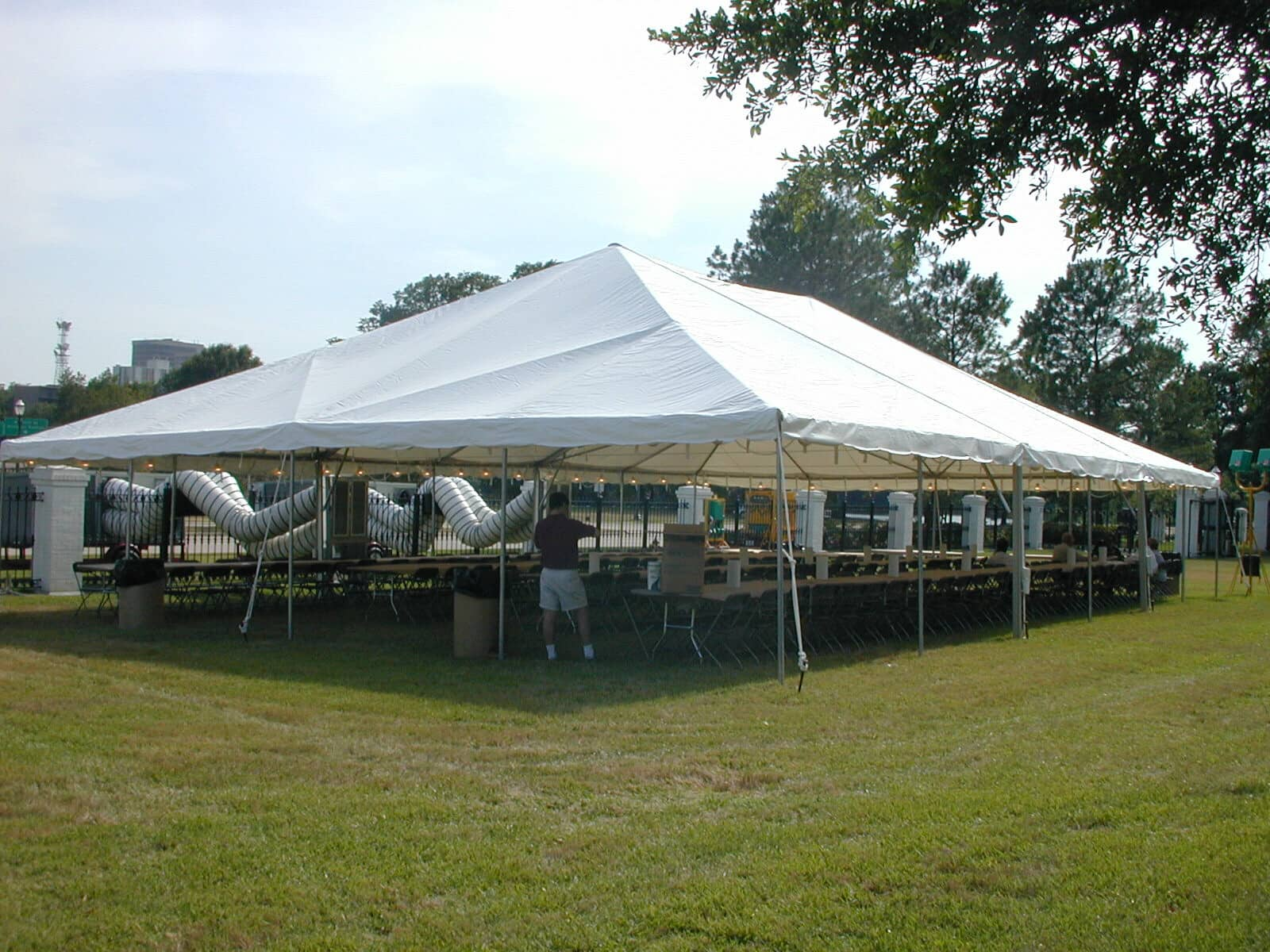 40' x 60' Frame Tent tent
