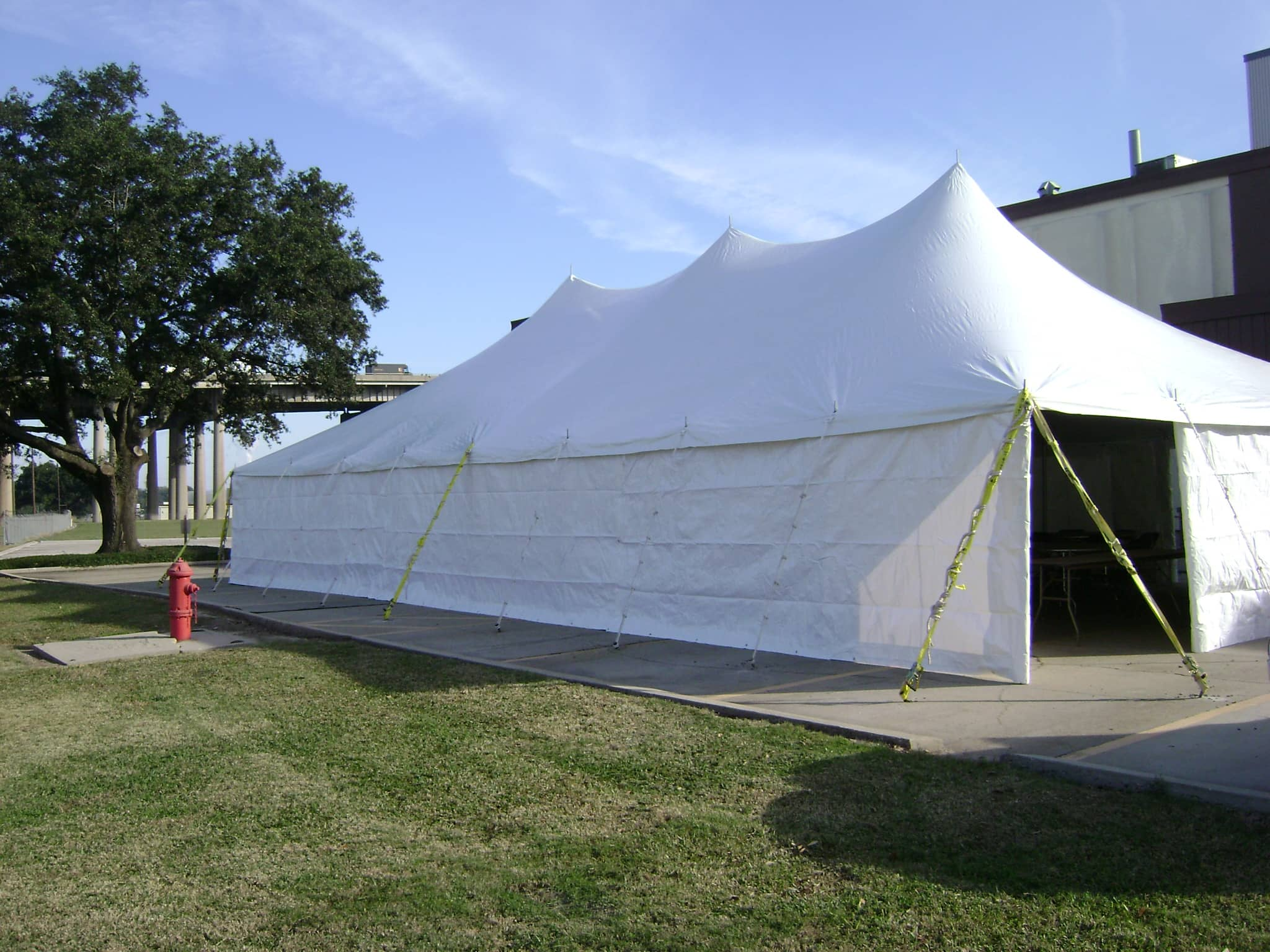 Large Industrial Tents - 40' x 40' Industrial Tent Sales | Service