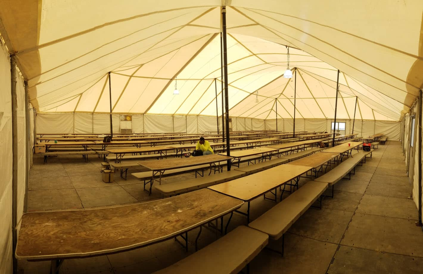 Industrial Pole Tents Temporary Pole Tents Service