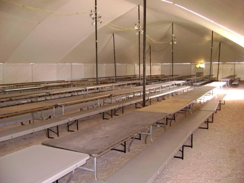 Industrial Lunch Tent Rentals Service Rentals Inc
