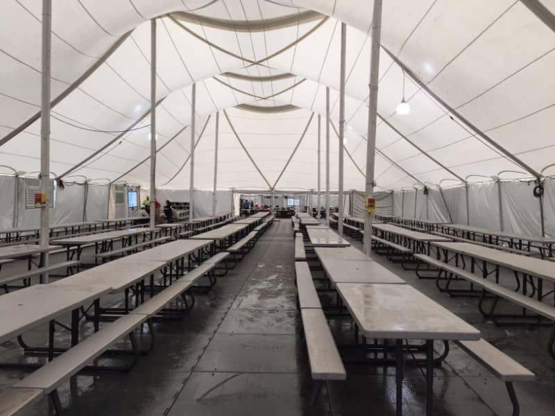 Industrial Lunch Tent Rentals | Service Rentals, Inc